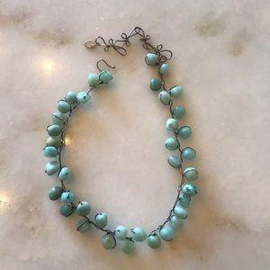 Vintage ABRA couture necklace